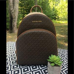 Michael Kors Large Abbey Backpack